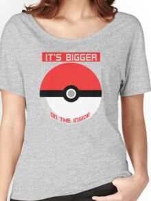 Pokemon - It's bigger on the inside.. Women's Relaxed Fit T-Shirt
