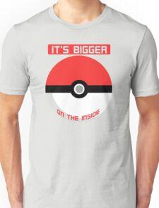 Pokemon - It's bigger on the inside.. Unisex T-Shirt