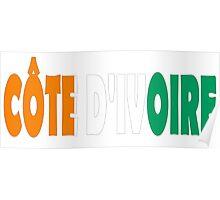 Côte d'Ivoire Poster