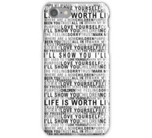 purpose playlist iPhone Case/Skin