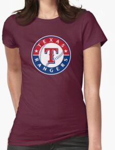 texas rangers Womens Fitted T-Shirt