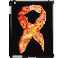 Bacon Awareness Ribbon . . . Never Forget Bacon iPad Case/Skin