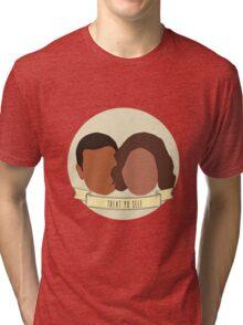 """Treat Yo Self"" - Tom Haverford, Donna Meagle Tri-blend T-Shirt"