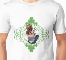 Pit Bull T-Bone Lucky Puppy Unisex T-Shirt