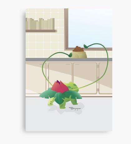 Pokemon: Ivysaur Canvas Print