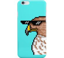 Hawk with Shades iPhone Case/Skin