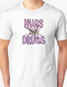 HUGS NOT DRUGS Unisex T-Shirt