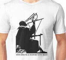 Galileo Galilei - Where senses fail us Unisex T-Shirt