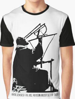 Galileo Galilei - Where senses fail us Graphic T-Shirt