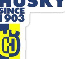 Husky Retro  Sticker