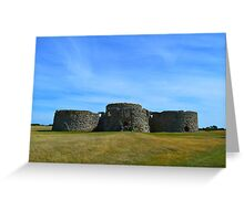 Camber Castle Greeting Card
