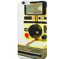 Old Polaroid Camera iPhone Case/Skin
