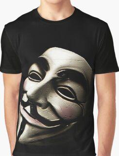 V for Vendetta Graphic T-Shirt