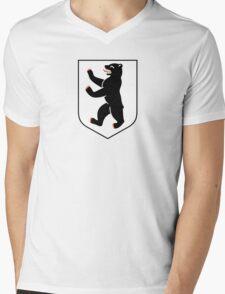 Coat of Arms of Berlin Mens V-Neck T-Shirt