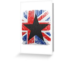David Bowie Tribute Greeting Card