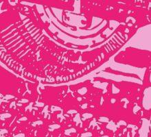 Pink on Pink Typewriter Sticker