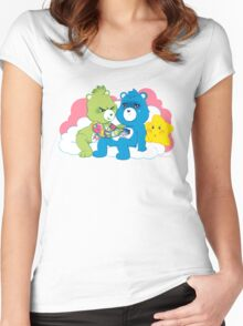Care Bears Ink Women's Fitted Scoop T-Shirt