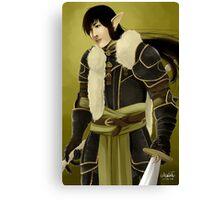 Blood Warrior Canvas Print