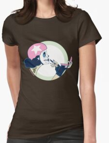 Drag Strip Courage & Compacts Womens Fitted T-Shirt