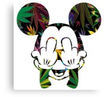 Mary Jane Mouse Canvas Print
