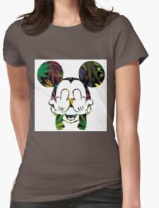 Mary Jane Mouse Womens Fitted T-Shirt
