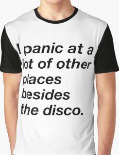 I LOVE TO PANIC Graphic T-Shirt