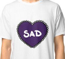 Love heart - Sad Classic T-Shirt