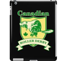 Canadian Roller Derby iPad Case/Skin