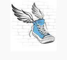 Vintage Sneakers with wings, hand drawing Unisex T-Shirt