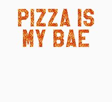PIZZA IS MY BAE Womens Fitted T-Shirt