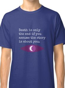 Welcome To Night Vale Death Design BLACK & WHITE Classic T-Shirt