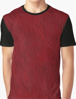 Red Fur Graphic T-Shirt