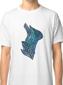 Blue Geometric Mosaic Classic T-Shirt
