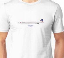 British Airways Concorde 1984 to 1997 Unisex T-Shirt