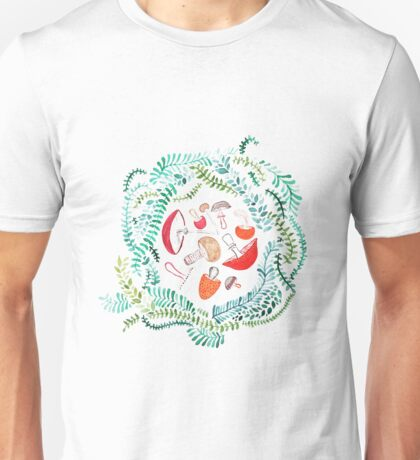 Mushroom Nest Unisex T-Shirt