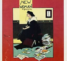 The New Woman, vintage Comedy Theatre london advert by aapshop