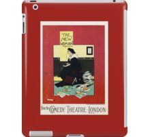 The New Woman, vintage Comedy Theatre london advert iPad Case/Skin