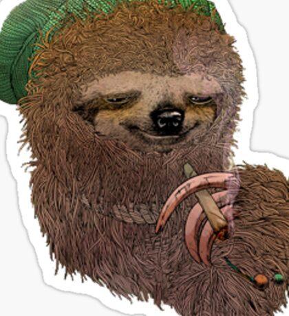 Stoner sloth  Sticker