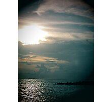 lomo sunset beach 1 Photographic Print