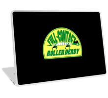 Full-Contact Roller Derby Laptop Skin