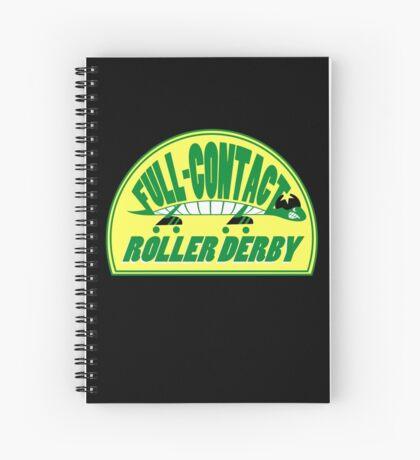 Full-Contact Roller Derby Spiral Notebook