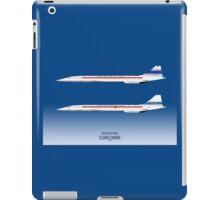 Prototype Concordes 001 and 002 iPad Case/Skin