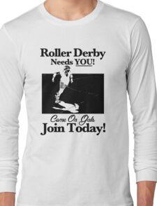 Roller Derby Recruiter Long Sleeve T-Shirt