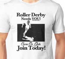 Roller Derby Recruiter Unisex T-Shirt