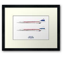 Prototype Concordes Framed Print