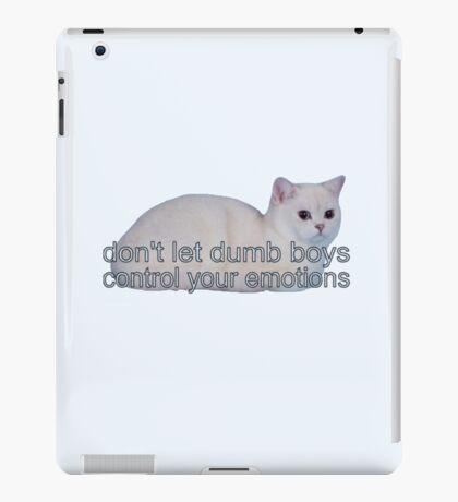 dumb boys iPad Case/Skin
