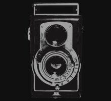 Retro Camera One Piece - Short Sleeve