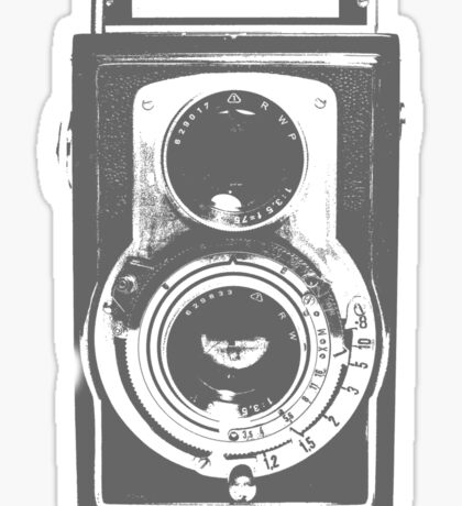 Retro Camera Sticker