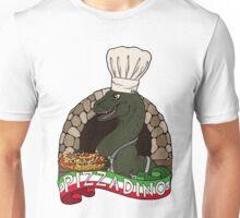 Pizza Dino Unisex T-Shirt
