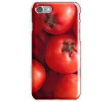 Mountain Ash Berry Cluster  iPhone Case/Skin